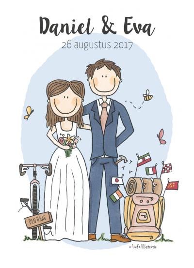 Bruiloft Daniel & Eva