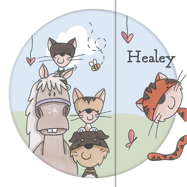 Geboortekaart Healey